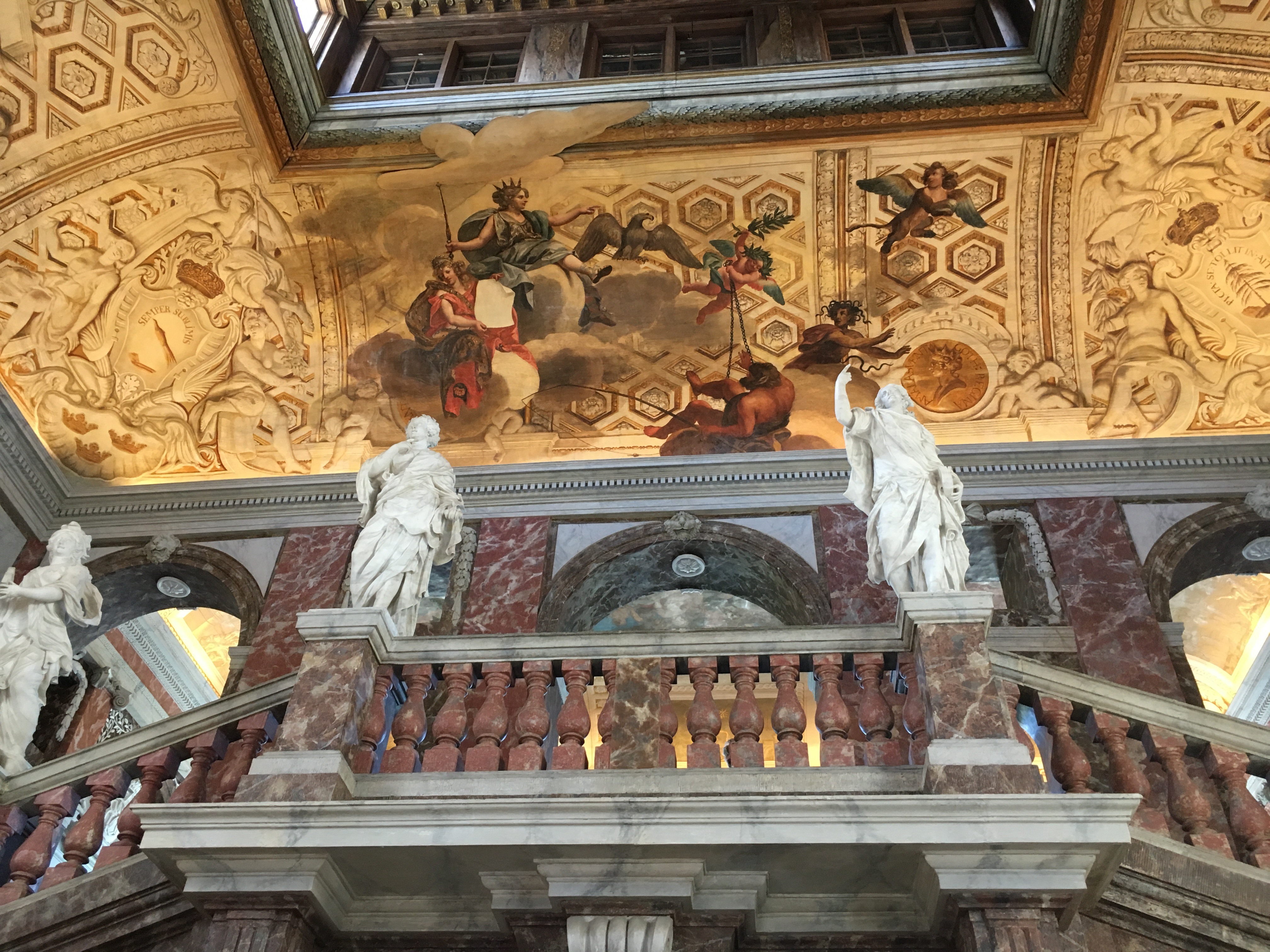 Una gita al palazzo di Drottningholm - gli interni