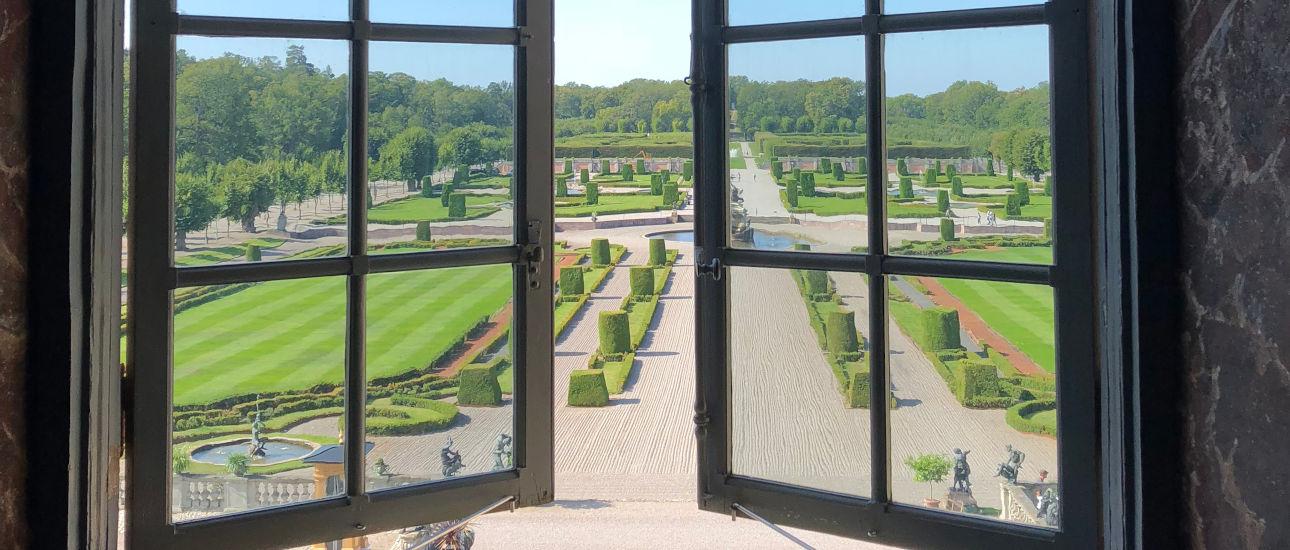 I giardini del Castello di Drottningholm