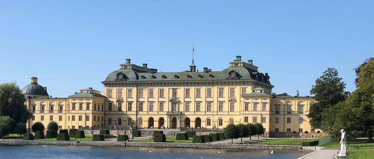 Il Palazzo di Drottingholm e gli stupendi giardini del Castello di Drottingholm
