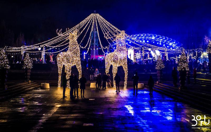 I mercatini di Natale a Stoccolma, le luci di Natale a Stoccolma