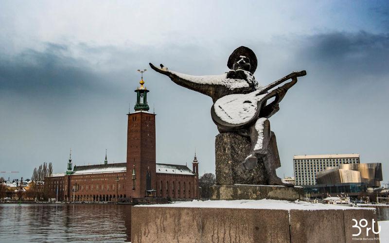 Cosa vedere a Stoccolma in due giorni, il Municipio di Stoccolma