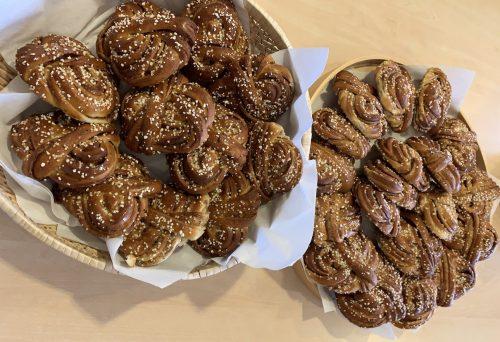 kanelbullar la ricetta di Stoccolma con Mary - visite guidate