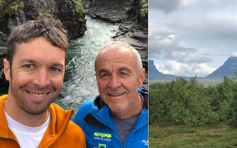 il Kungsleden - trekking in Lapponia - Abisko e la porta della Lapponia
