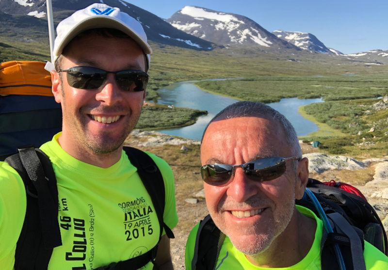 il Kungsleden - trekking in Lapponia - ripartenza il secondo giorno