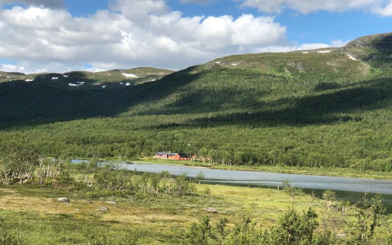 il Kungsleden - trekking in Lapponia - Abiskojaure