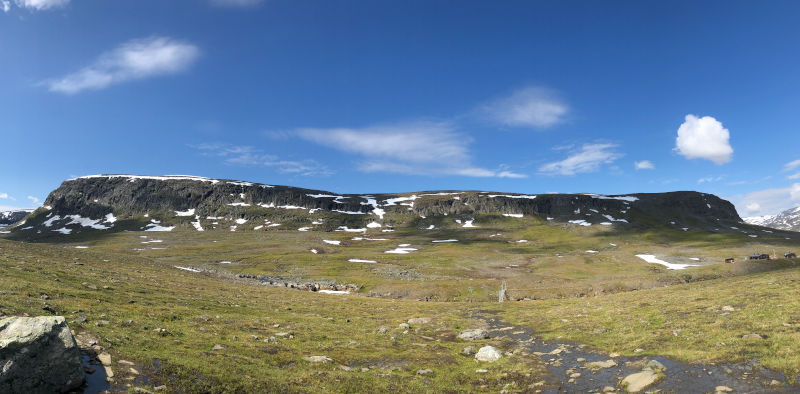 il Kungsleden - trekking in Lapponia - paesaggi mozzafiato