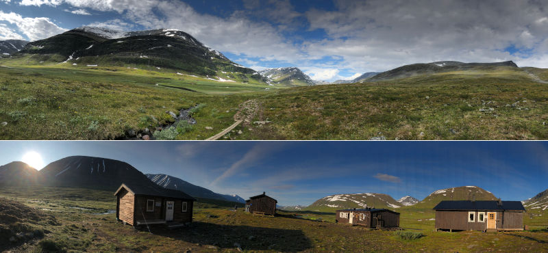 il Kungsleden - trekking in Lapponia - panoramiche