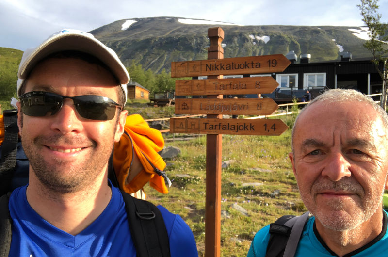 il Kungsleden - trekking in Lapponia - partenza da kebnekaise