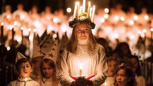 La festa di Santa Lucia a Stoccolma e in Svezia