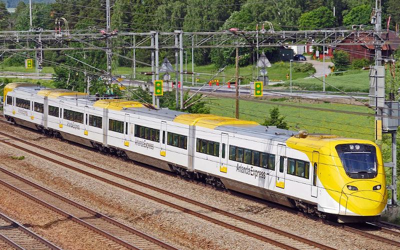 Come arrivare a Stoccolma dall'aeroporto di Arlanda e Skavsta - Arlanda Express
