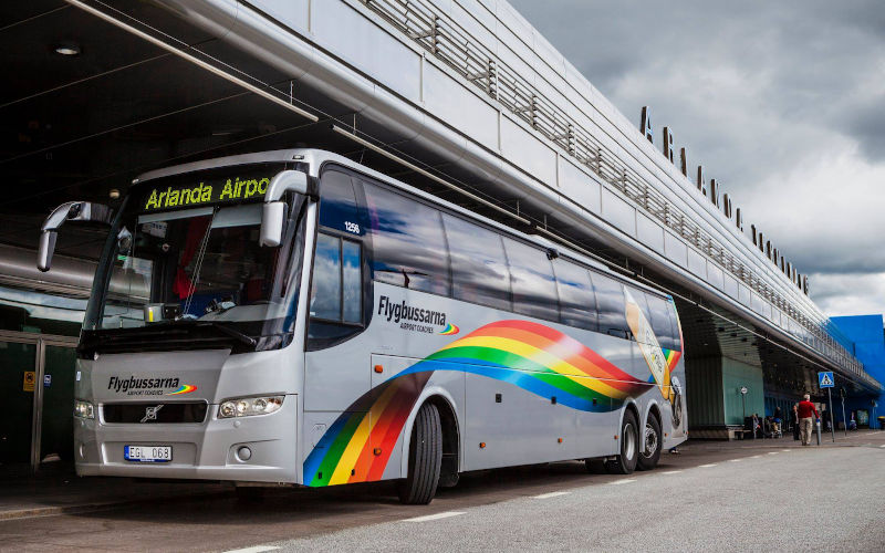 Come arrivare a Stoccolma dall'aeroporto di Arlanda e Skavsta - Flygbussarna