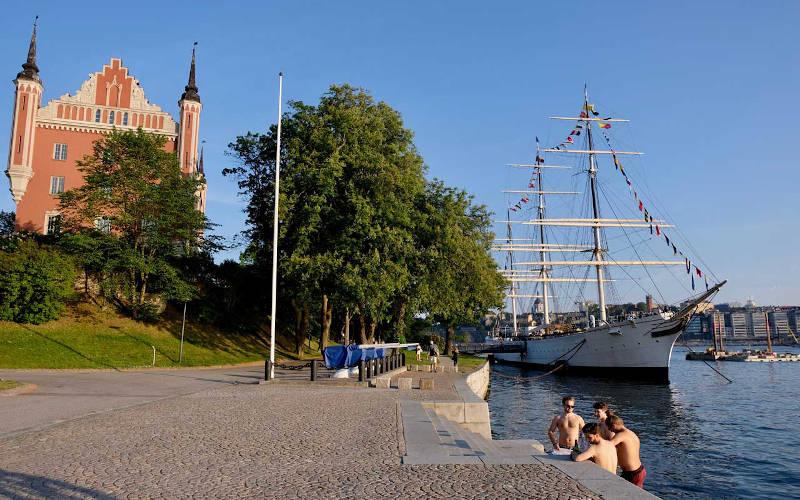 Hotel sulle navi a Stoccolma: STF Af Chapman a Skeppsholmen