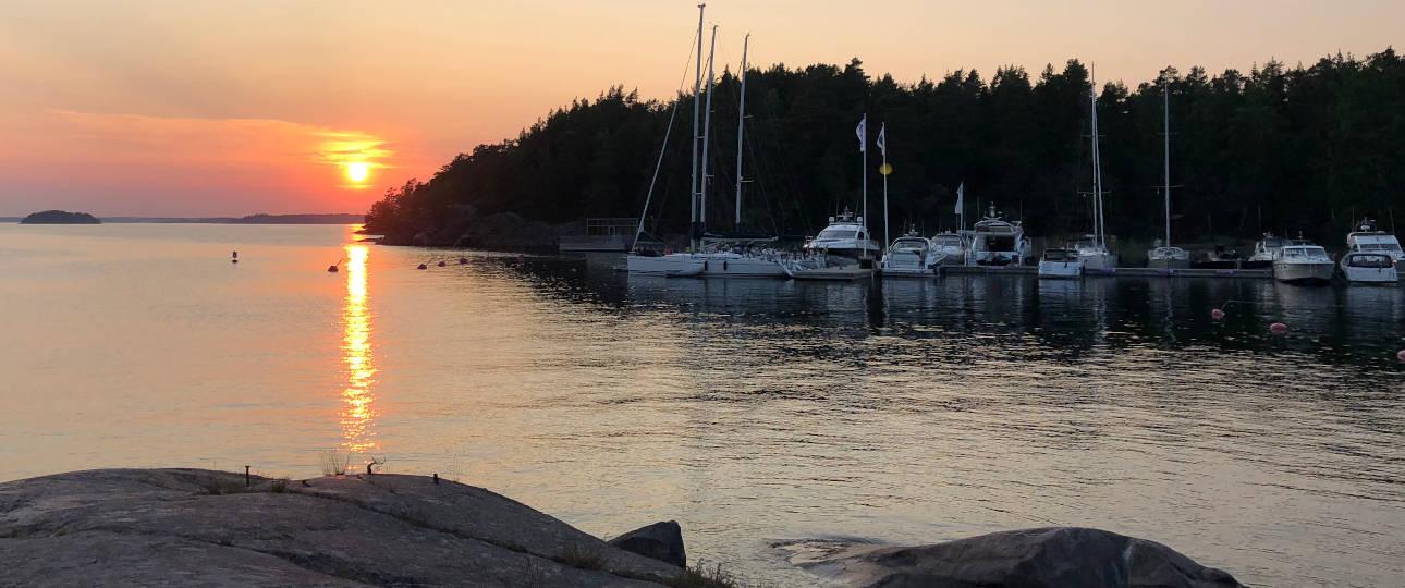 Dove andare nell'arcipelago di Stoccolma: Grinda al tramonto