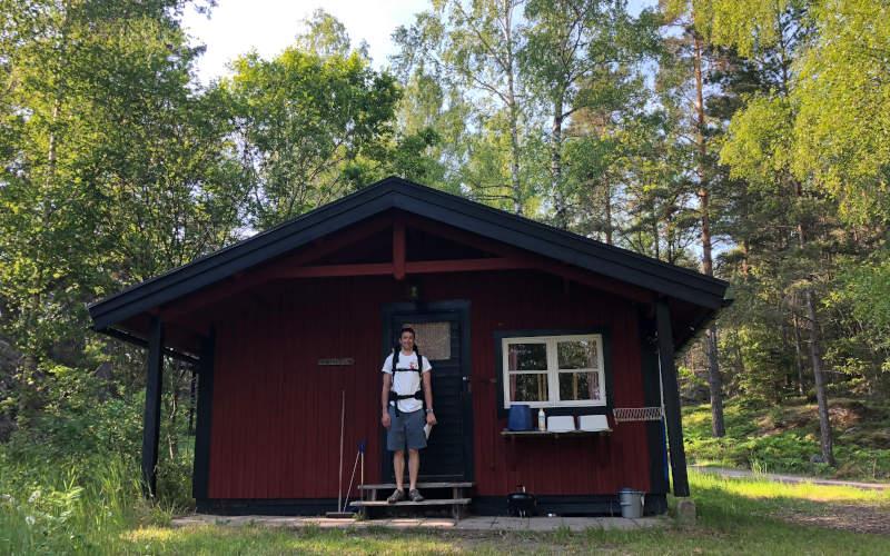 Dove dormire nell arcipelago di Stoccolma : le baite rosse o stuga svedesi