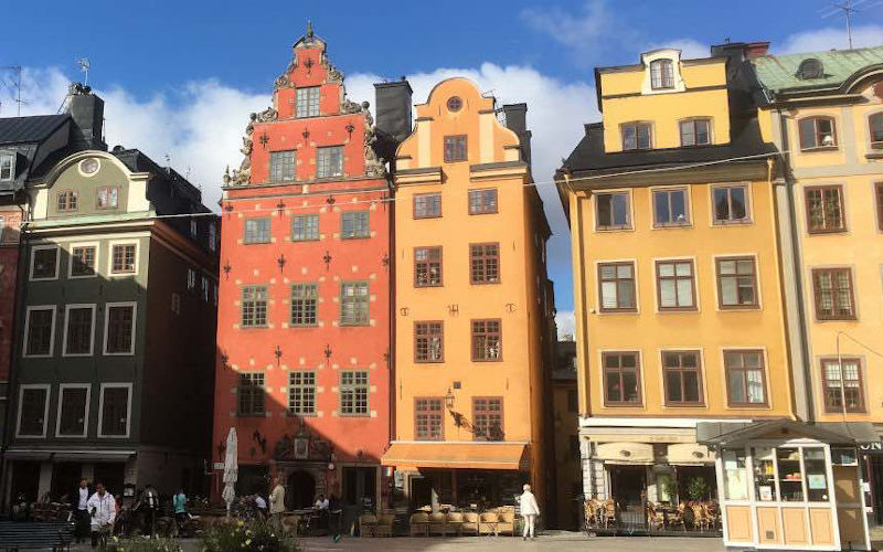 Come muoversi a Stoccolma: a piedi per Gamla Stan