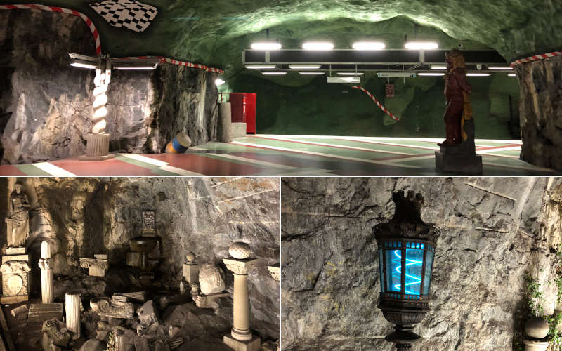 La metropolitana di Stoccolma: Kungsträdgården