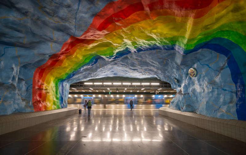 Tunnelbana: la fermata di stadion