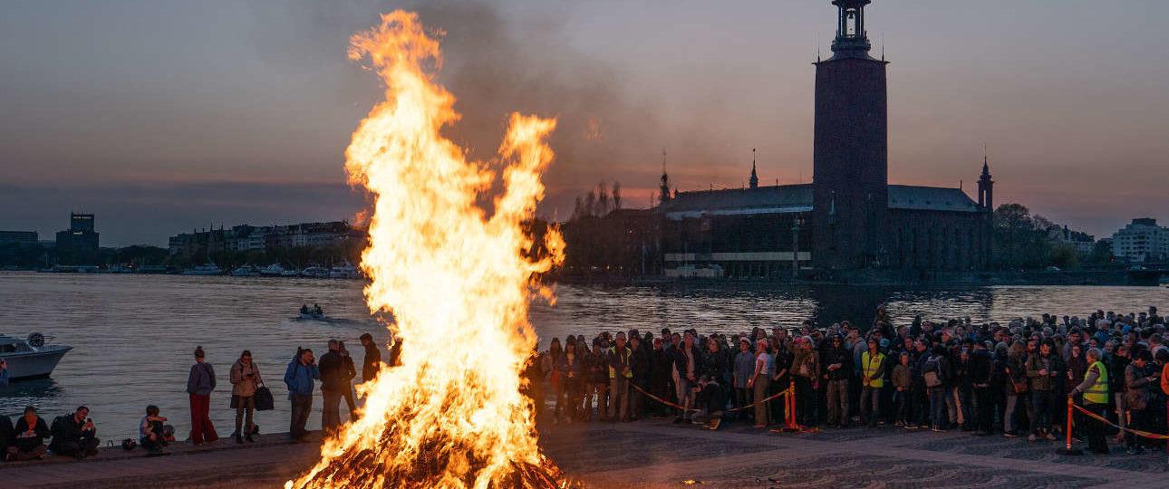Cosa fare a Stoccolma il primo maggio: la festa di Valborg