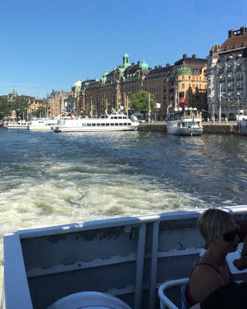 Stoccolma tra acqua e terra