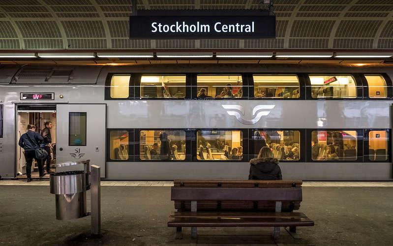 Arrivare a Stoccolma in treno dall'Italia