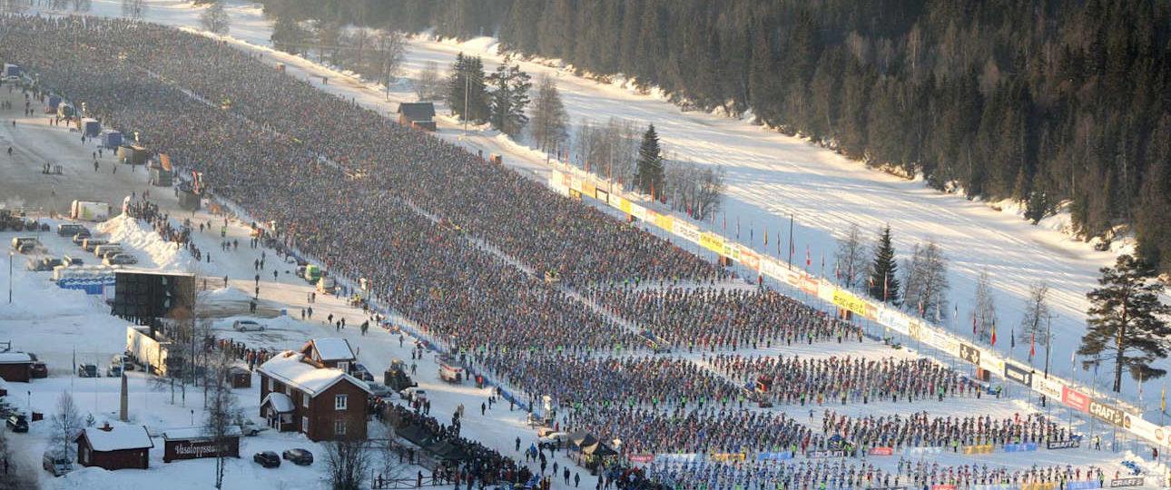 Vasaloppet la maratona dello sci di fondo