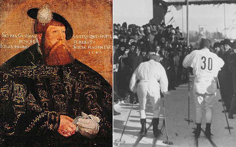 La storia della vasaloppet: Gustavo Vasa e lo storico arrivo del 1928