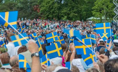 Nationaldag in Svezia e a Stoccolma