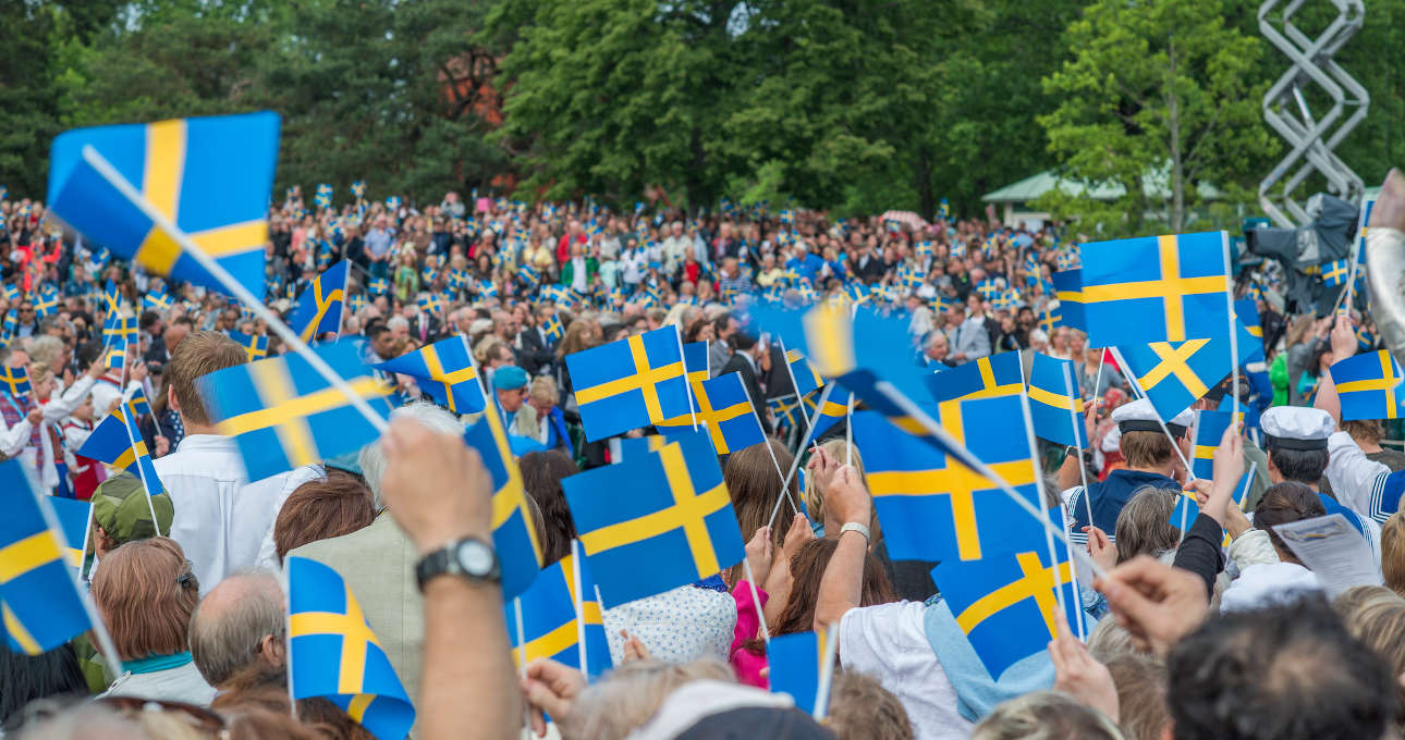 Nationaldag in Svezia e a Stoccolma