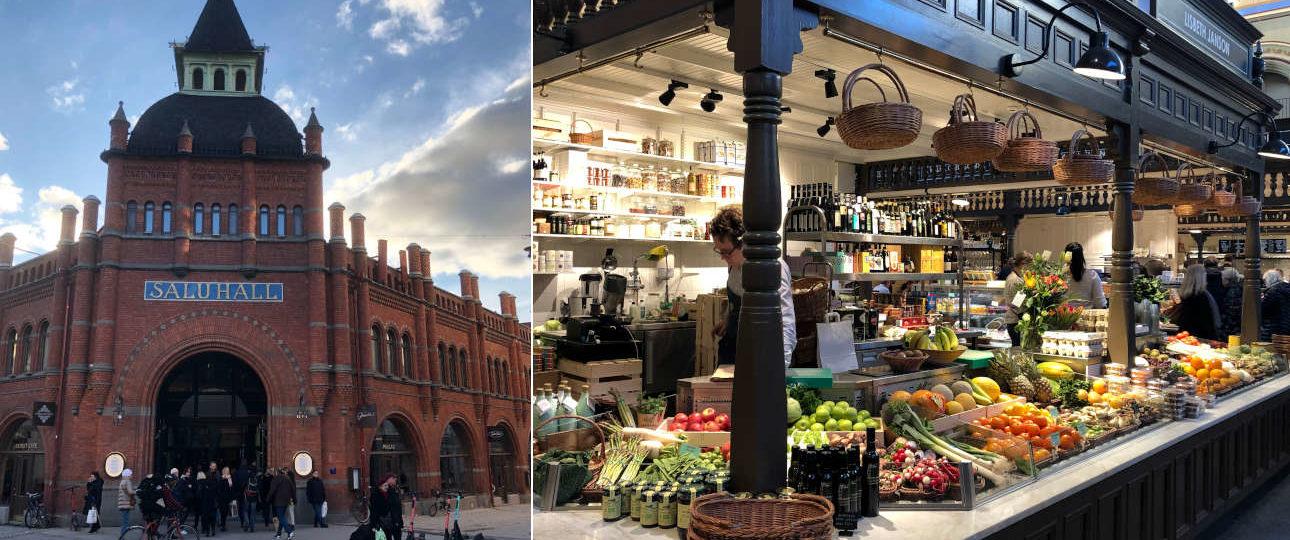 Östermalms Saluhall: il mercato coperto di Stoccolma a Östermalm