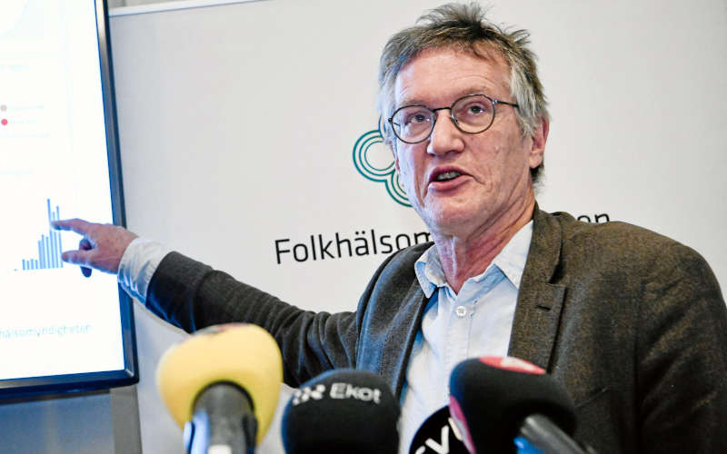 Anders Tegnell, l'epidemiologo di Stato Svedese