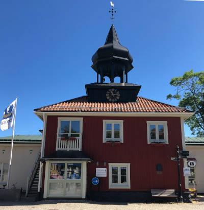 il municipio di trosa
