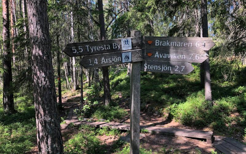 parco nazionale di Tyresta a Stoccolma