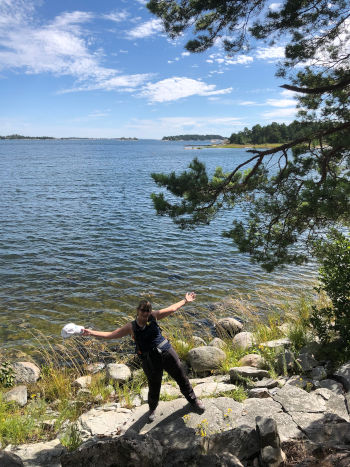 Trekking a Gålö nell'arcipelago di Stoccolma