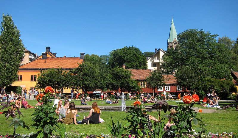 Nytorget a Södermalm il quartiere hipster di Stoccolma