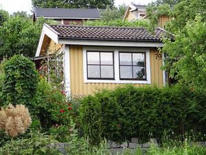 Una casetta colonica di Tantolunden a Södermalm Stoccolma