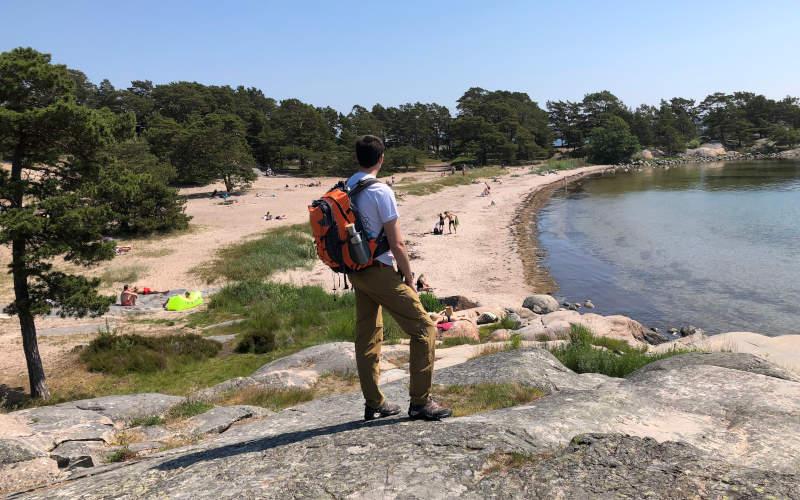 Le spiagge dell'arcipelago di Stoccolma a Sandhamn