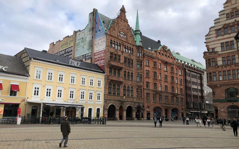 Stortorget a Malmö