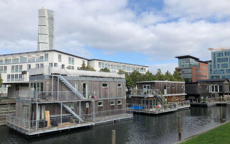 Västra Hamnen il quartiere ecosostenibile di Malmö e Turning Torso